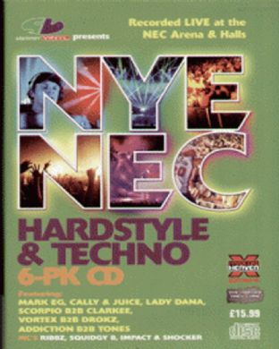 Slammin Vinyl - New Years Eve 2007 - Hardstyle Pack